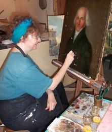 4. Quand une peinture est bien restaurée, on doit voir uniquement ce que le peintre a fait