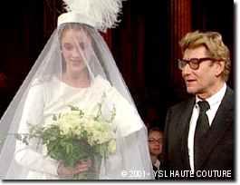 Le départ d'Yves Saint Laurent