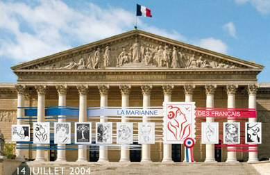 La France se dote d'une nouvelle Marianne