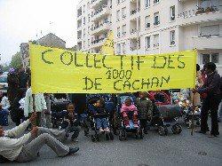 Au squat de Cachan