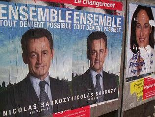 Nicolas Sarkozy est élu Président