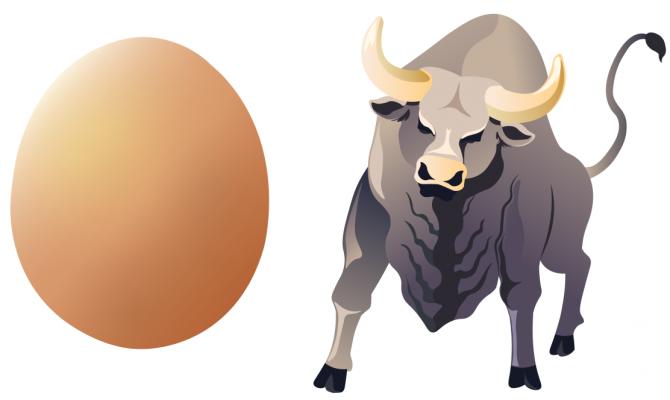 Qui vole un œuf vole un bœuf